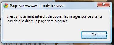 Il est interdit de copier les images !