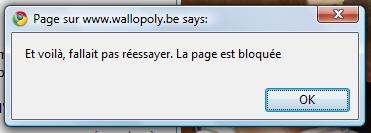Copie d'image bloque le navigateur