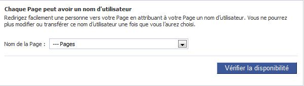 Short URL pour page Facebook