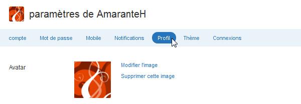 Changer l'avatar sur Twitter