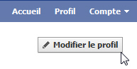 Modifier son profil sur Facebook