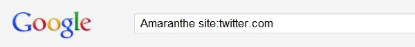 Google est mieux pour rechercher sur Twitter !