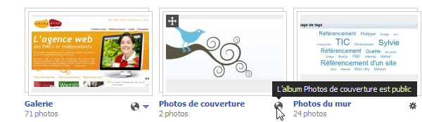 Confidentialité des photos sur Facebook