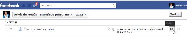 Timeline Facebook : gare à la confidentialité !