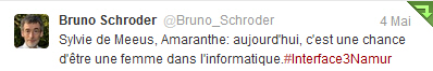 Tweet de Bruno Schroder