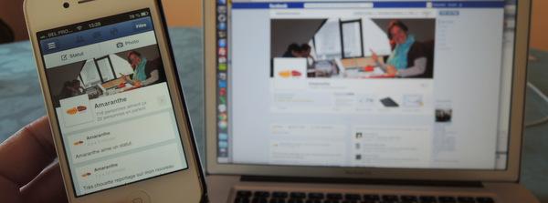 Gérer sa page Facebook avec son smartphone