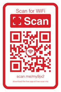Scanner le Code QR pour accéder au wifi