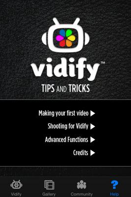 Créer des clips vidéo avec vidify