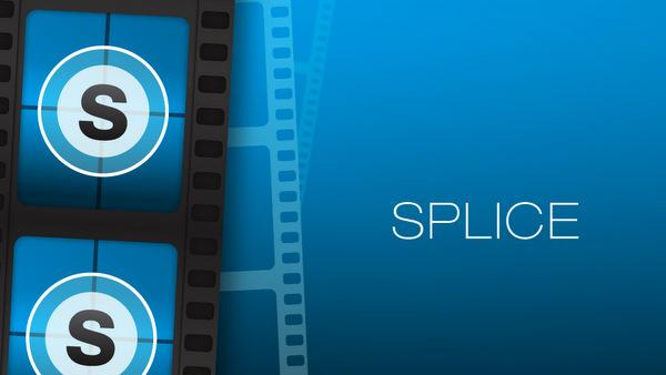 Montage vidéo avec Splice
