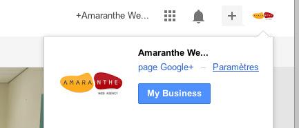Gestion partagée de la page Google+