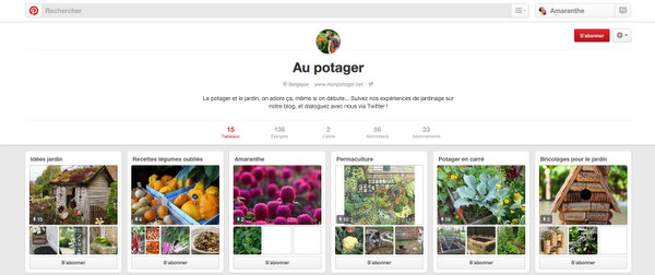 Une jardinière sur Pinterest