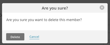 Delete member dans MailChimp