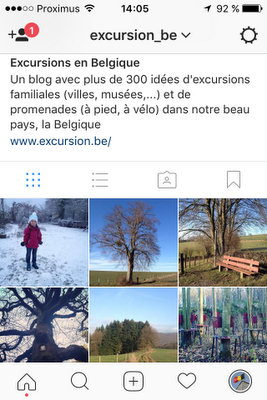 Excursion_be sur Instagram