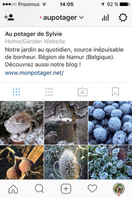 Aupotager sur Instagram