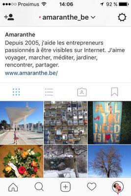Amaranthe sur Instagram