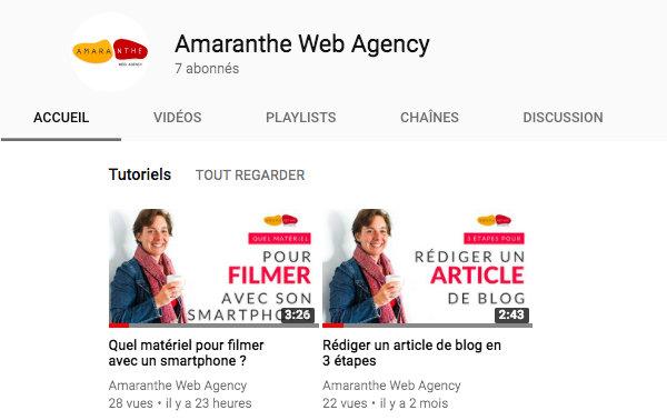 Miniatures personnalisées YouTube