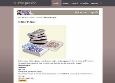 Achat en ligne de puzzles