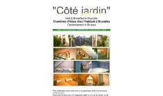 C�t� Jardin avant refonte du site