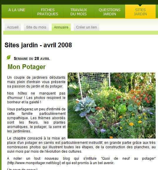 gerbeaud jardinage potager